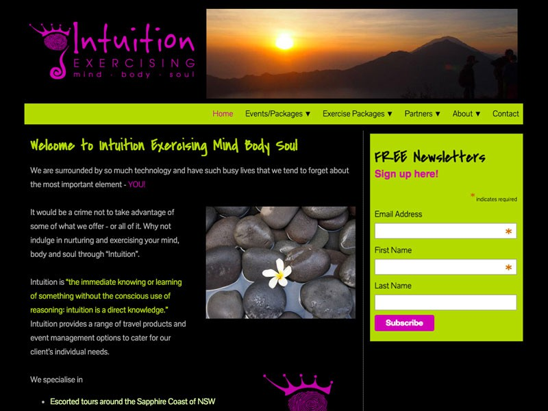Intuition Excersising Mind Body Soul, Sydney NSW