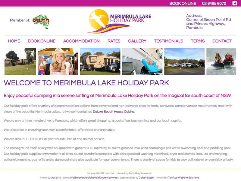 Merimbula Lake Holiday Park, Merimbula NSW
